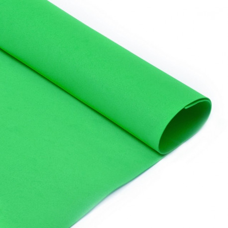 Ярко-зеленый, фоамиран (Фом Эва) 1мм 50*50 см