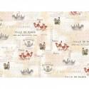 Ткань для пэчворка PEPPY FRENCH COUNTRY ROOSTERS PANEL 4559 ФАСОВКА 60х110 см 100% хлопок