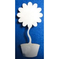 Топиарий Цветок, заготовка для декорирования фанера 3мм, 17см NK