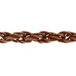 Под медь, цепочка декоративная 3мм 1м железо Micron