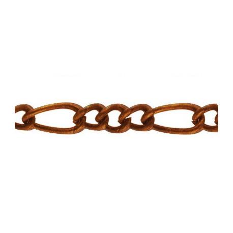 Под медь, цепочка декоративная 4х6, 10.6х5.2мм 1м железо Micron
