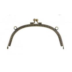 Под состаренную бронзу, фермуар, застежка для сумки, 165х75см, Zlatka