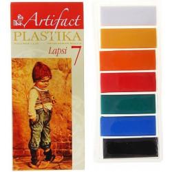 Lapsi. набор полимерной глины 7 классических цветов 7х20гр Artifact