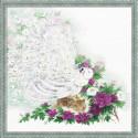 Сад Махараджи, набор для вышивания крестиком, 50х50см, мулине хлопок Anchor 26цветов Риолис