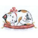 Благополучие в доме, набор для вышивания крестиком 16х11см 8цветов Panna