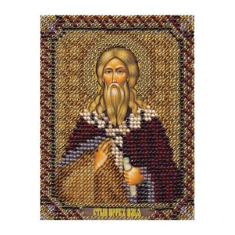 Илья, набор для вышивания бисером 9х11см 13цветов Panna