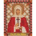 София, набор для вышивания бисером 9х11см 12цветов Panna