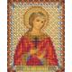 Надежда, набор для вышивания бисером 9х11см 10цветов Panna