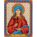 Марина, набор для вышивания бисером 9х11см 12цветов Panna