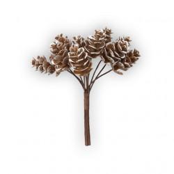 Шишки, декоративный элемент для флористики, 10шт. Blumentag