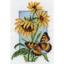 Шоколадница, набор для вышивания крестиком 13х19см 15цветов Panna
