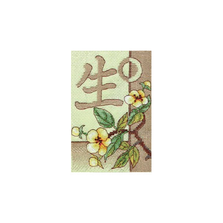 Жизнь, набор для вышивания крестиком, 10х16см, 19цветов Panna