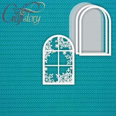 Зимнее окно, шейкер 6,1х9,7см CraftStory