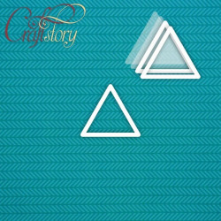 Треугольник, шейкер 6х6см CraftStory