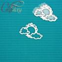 Солнце с облаками, шейкер 8,4х6см CraftStory