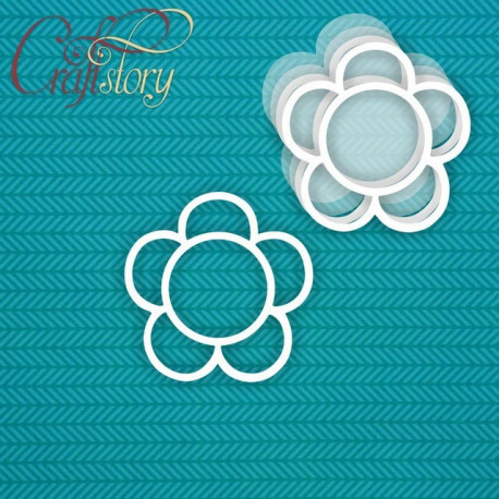 Цветок, шейкер 8,5см CraftStory