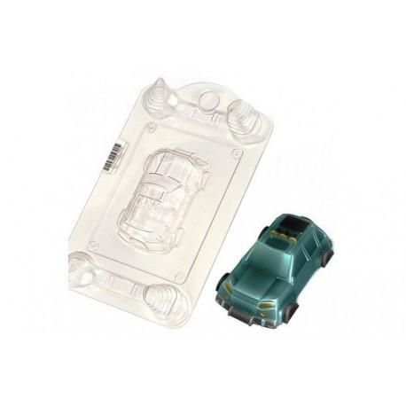 Джип, пластиковая форма для мыла 55г 85х40х20мм PC