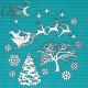 Рождественская Ночь, чипборд 12х15см CraftStory