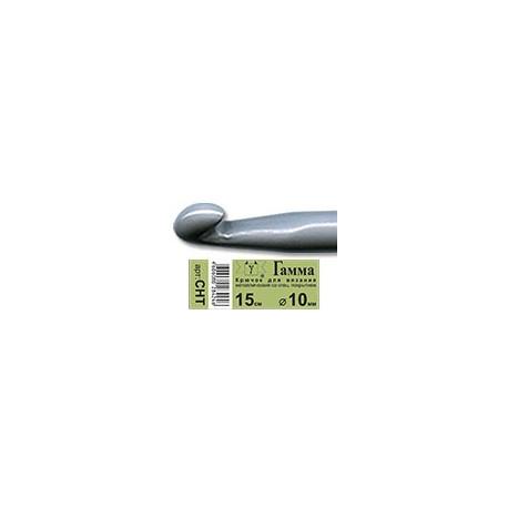 Крючок для вязания металл с покрытием d10мм, 15см, GAMMA