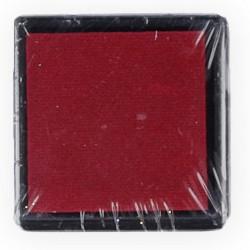 Бордовый, штемпельная подушка 34х34х20мм Mr.Painter