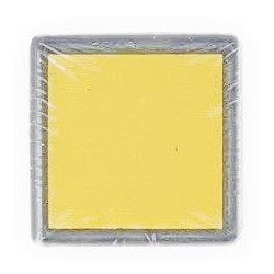 Светло-желтый, штемпельная подушка 34х34х20мм Mr.Painter