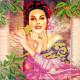 Альдонса, холст с рисунком для вышивки бисером, 30х30см, 16цветов АбрисАрт