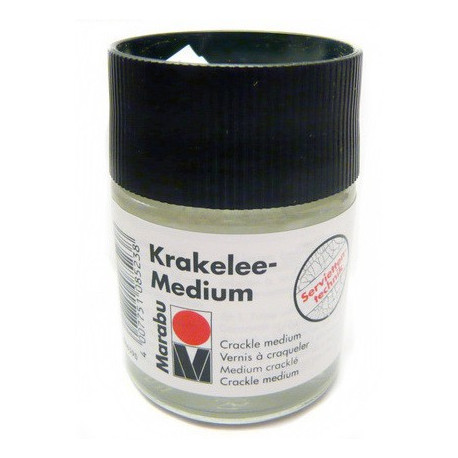 Средство-кракелюр Krakelee-Medium, 50 мл. Marabu
