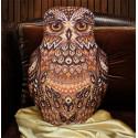 Совушка(подушка), набор для вышивания крестиком 29х43см 11цветов Panna
