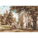 В парке замка Шенонсо, набор для вышивания крестиком, 49х34см, 18цветов Panna