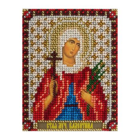 Валентина, набор для вышивания бисером 9х11см 14цветов Panna