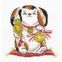 Защита и достаток, набор для вышивания крестиком 14х14см 9цветов Panna