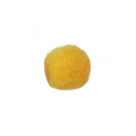 Желтый, помпоны 5мм, 100шт