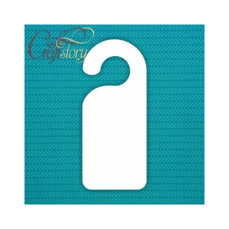 Табличка на дверь, 9х21см, пивной картон 1,5см