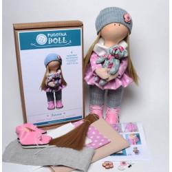 Эмма, набор для шитья куклы 35см. Pugovka Doll