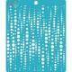 Пузыри, трафарет 15х18см толщина 0,5мм CraftStory