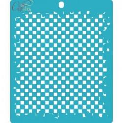 Шахматная доска, трафарет 15х18см толщина 0,5мм CraftStory