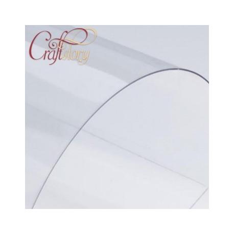 Пластик прозрачный, 1 лист 30х30 см толщина 0,5мм