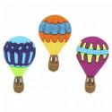 Воздушные шары, набор пуговиц 3шт пластик Dress It Up