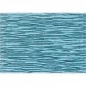 Бирюзовый, креп(гофробумага), 2,5*0,5м