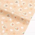 Sunny rabbits, ткань для пэчворка 45х50(±1см), 100% хлопок