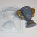 Кубок, пластиковая форма для мыла 95г 95х91х30мм XD