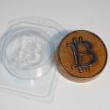Биткоин (символ), пластиковая форма для мыла XD