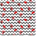 Лист односторонней бумаги, коллекция Маки, 30х30см, 190гр/м Фея рукоделия