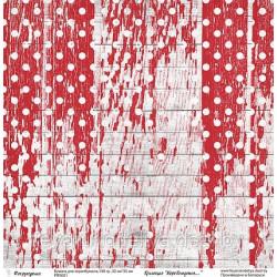 Лист односторонней бумаги, коллекция Море волнуется..., 30х30см, 190гр/м Фея рукоделия