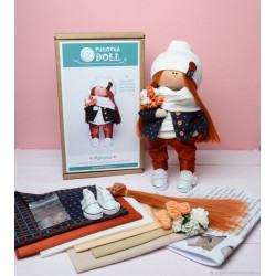Арина, набор для шитья куклы 25см. Pugovka Doll