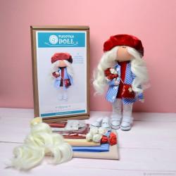 Ирина, набор для шитья куклы 25см. Pugovka Doll