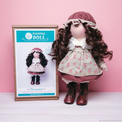 Пелагея, набор для шитья куклы 35см. Pugovka Doll