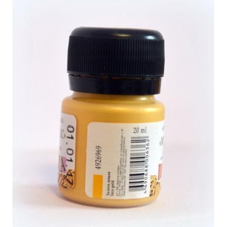 Золото инков краска акриловая металлик 20мл Decola +t!