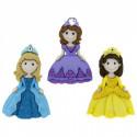 Прекрасные принцессы, набор пуговиц 3шт пластик Dress It Up
