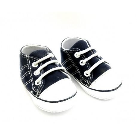 Кеды синие, длина стопы 10см. Кукольная обувь